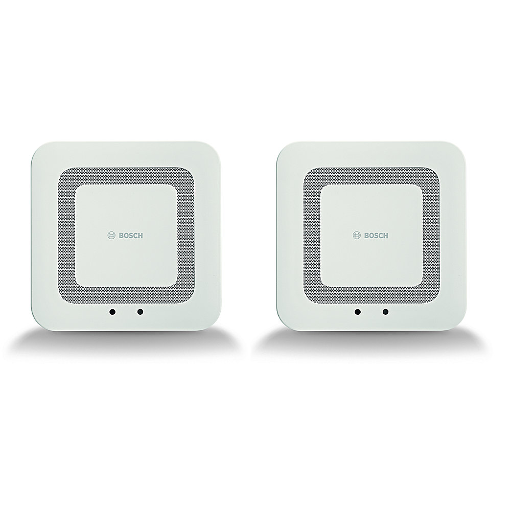 Bosch Smart Home Twinguard Funk-Rauchwarnmelder 2er Pack