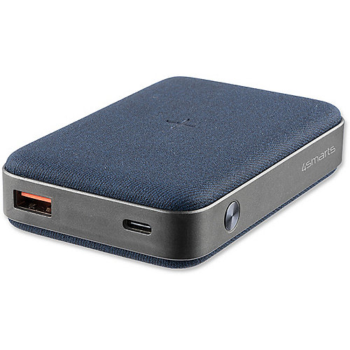 4smarts Ind. Powerbank VoltHUb 10000 mAh mit Qi & Quick Charge