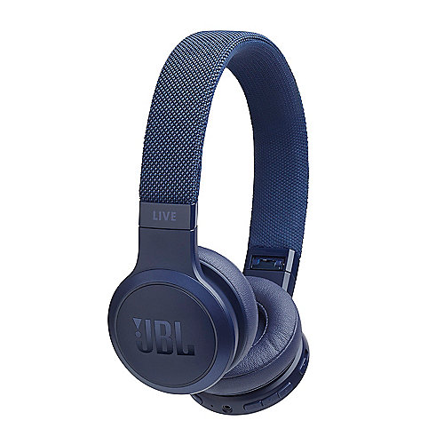 JBL LIVE 400BT - On-Ear Bluetooth-Kopfhörer, blau