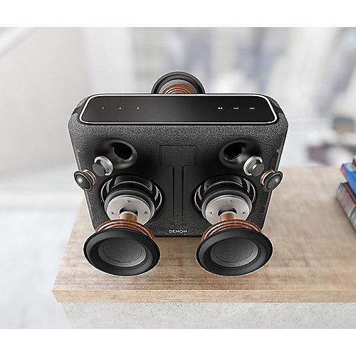 Denon HOME 250 Multiroom Lautsprecher mit Bluetooth, WLAN, Airplay 2, schwarz