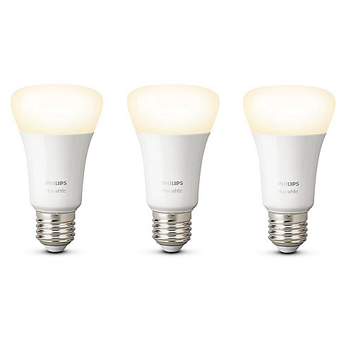 Philips Hue White E27 LED Lampe 9 W Bluetooth 3er Pack
