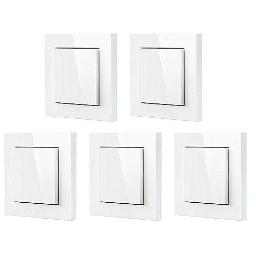 Eve Light Switch smarter Lichtschalter für Apple Homekit 5er Pack