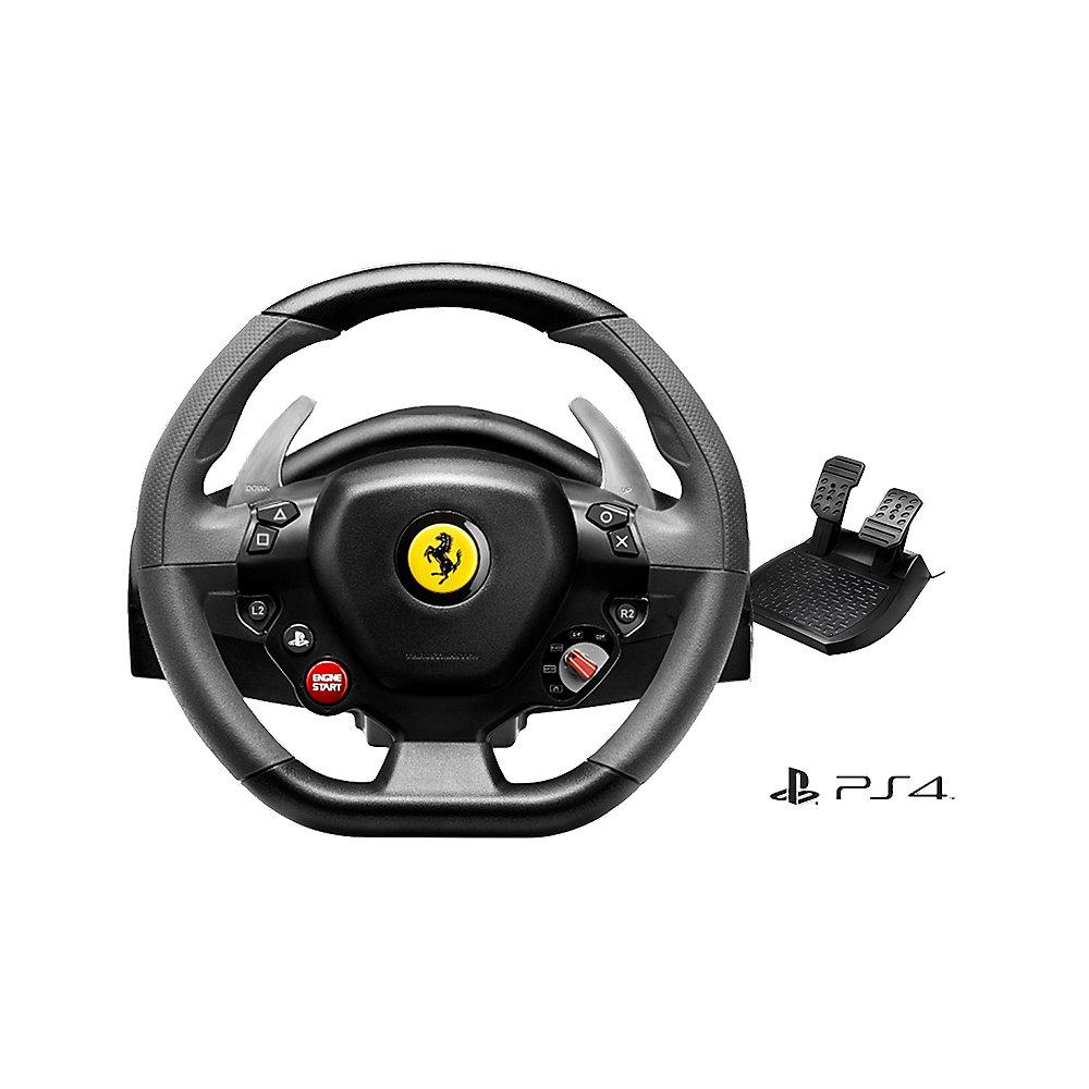 Thrustmaster Racing Wheel T80 Ferrari 488 Gtb Edition Ps4 Cyberport