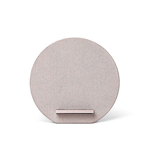 Native Union Dock 10 W Wireless Charging Stand Rose