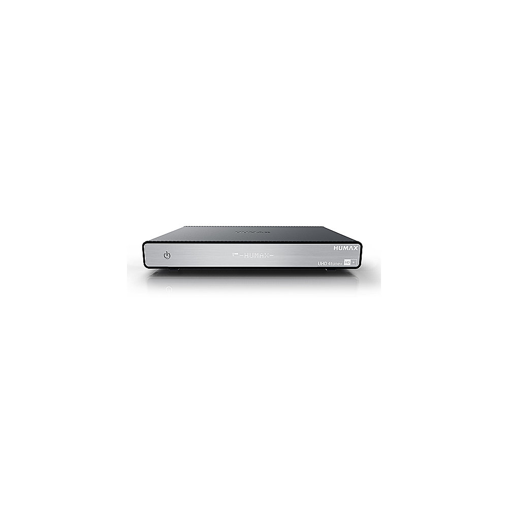 Humax UHD 4tune+, 4k + UHD Satelliten Receiver inkl. HD+ Karte (6 Monate) R9406