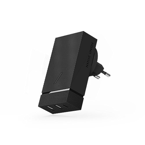 Native Union Smart 45W Charger 1x USB-C 2x USB-A Slate Gray