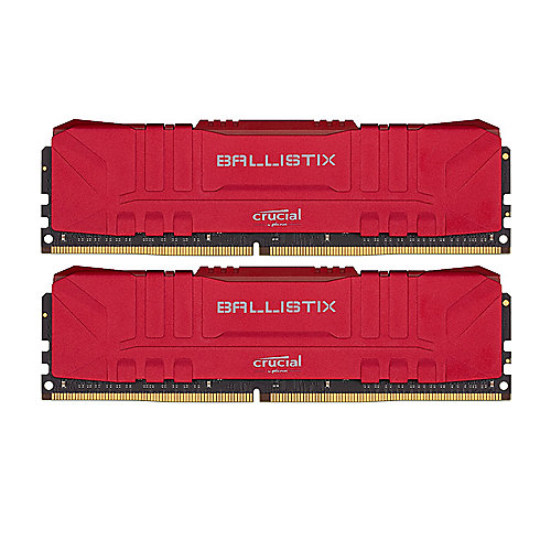 32GB (2x16GB) Crucial Ballistix DDR4-3200 Red CL16 RAM Speicher Kit