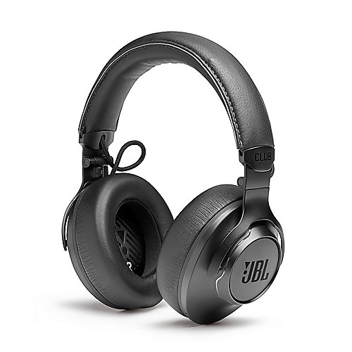 JBL CLUB ONE wireless over-ear adaptive noise cancelling headphones, schwarz