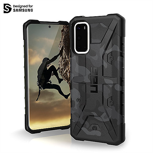 UAG Urban Armor Gear Pathfinder Case Samsung Galaxy S20 midnight camo