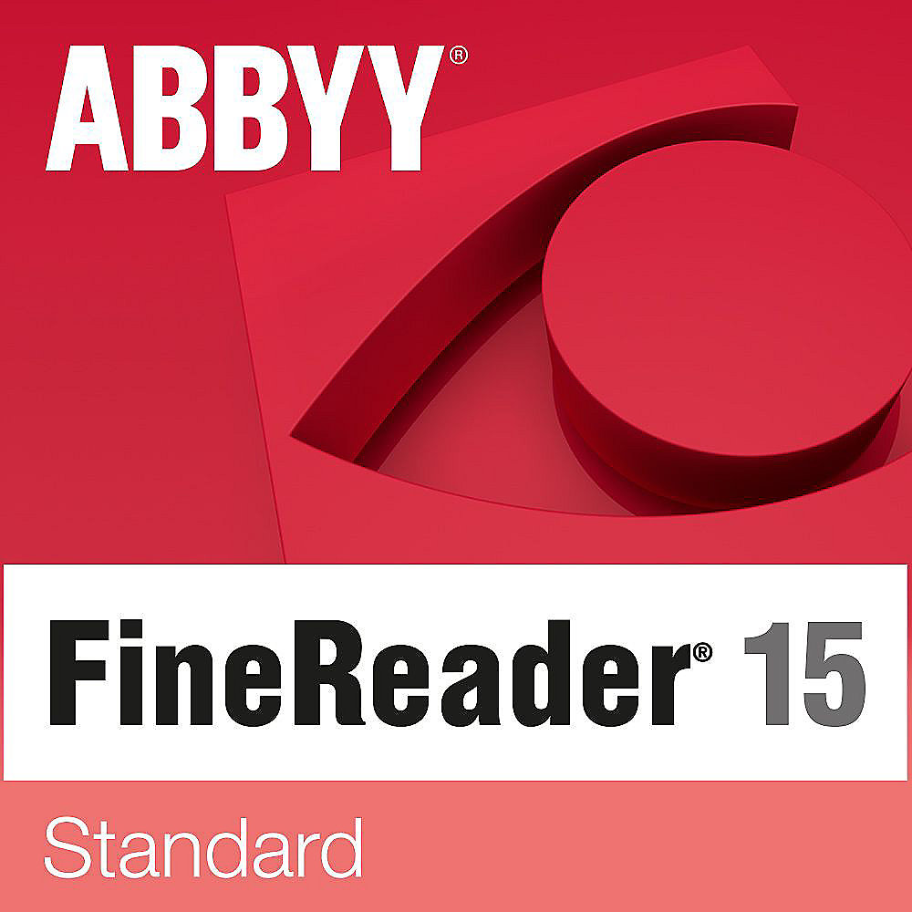 ABBYY FineReader 15 Standard (100 User) Win EDU ESD