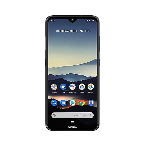 Nokia 7.2 Dual-SIM 64GB charcoal Android 9.0 Smartphone mit Zeiss-Kamera