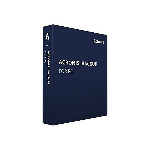 Acronis Backup 12 Server, Box + 1 Year Advantage Premier