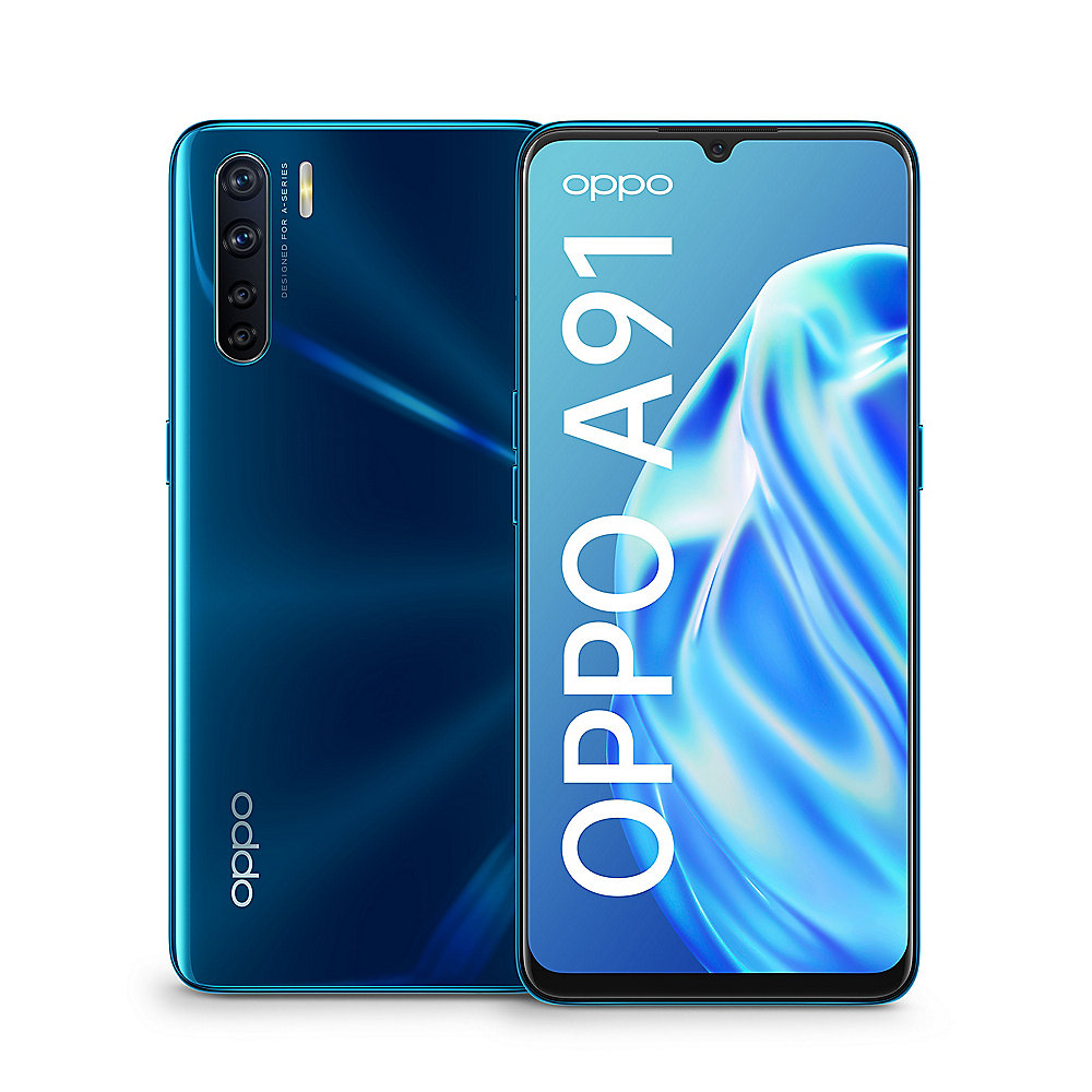 Oppo A91 8/128GB blazing blue Dual-Sim Android 9.0 Smartphone