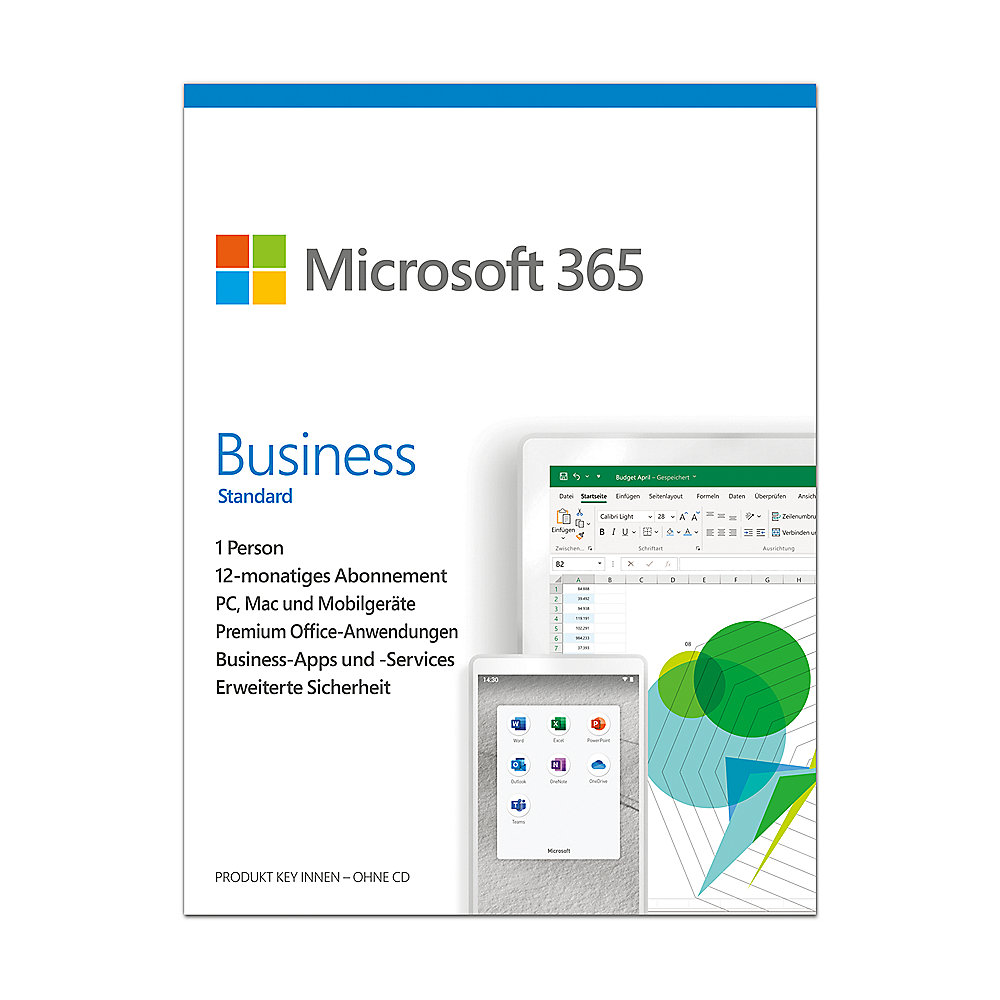 Microsoft 365 Business Standard Box