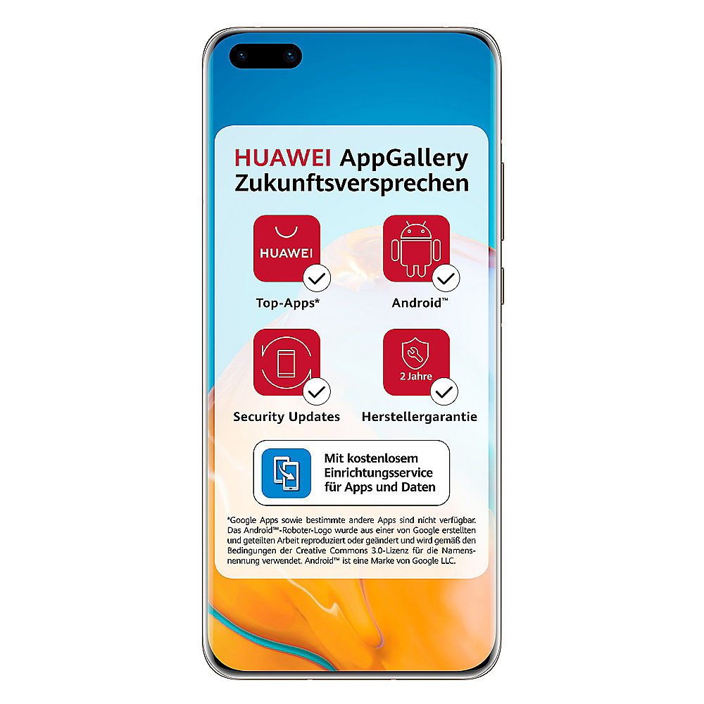 HUAWEI P40 Pro 256GB blush gold Dual-SIM Android 10.0 Smartphone