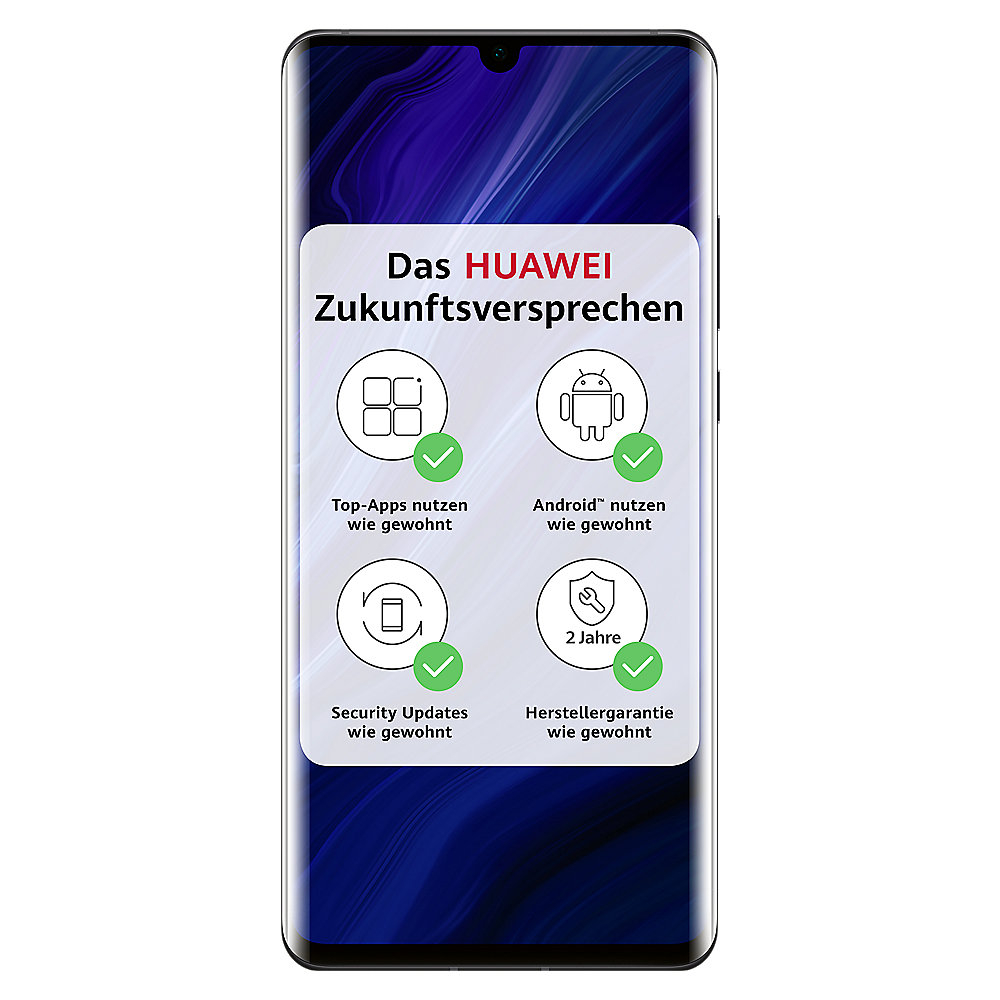 HUAWEI P30 Pro New Edition 256GB black Android 10.0 Smartphone