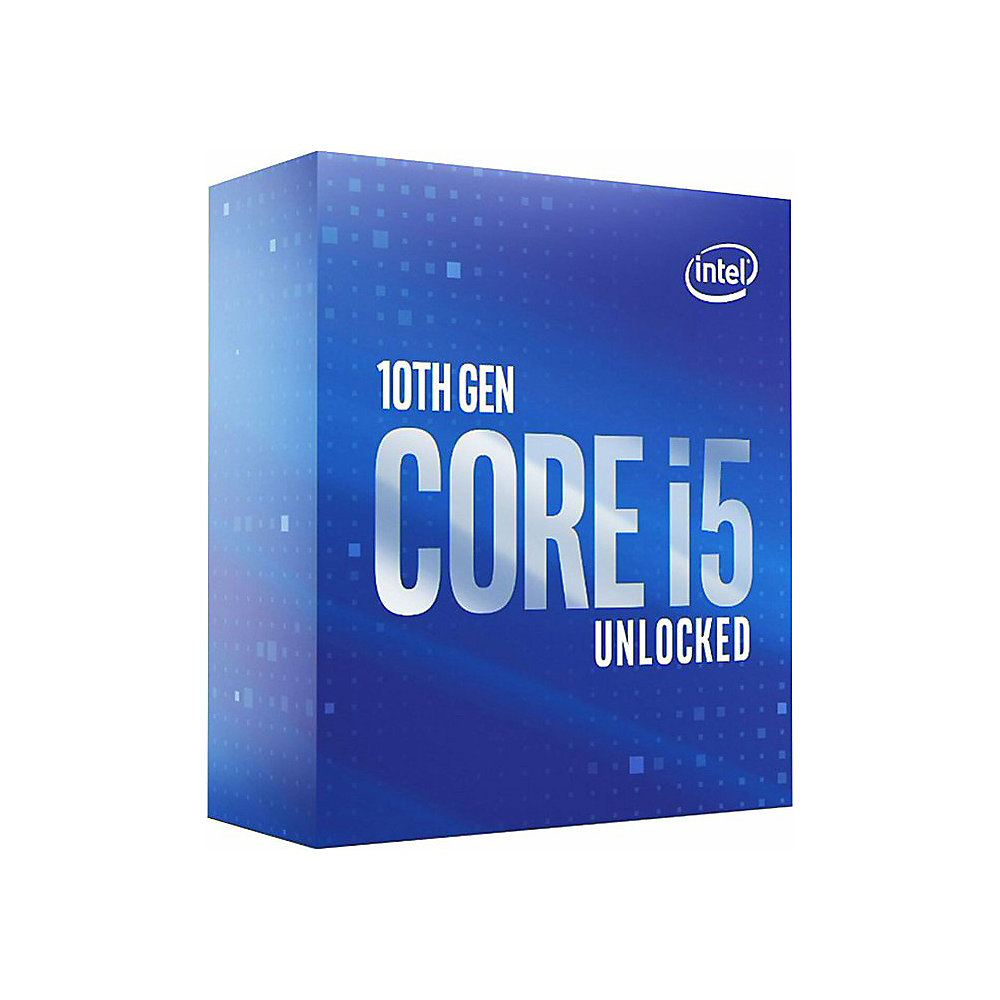 Intel Core i5-10600K 6x4,1GHz 12MB-L3 Cache Sockel 1200 (Comet Lake)