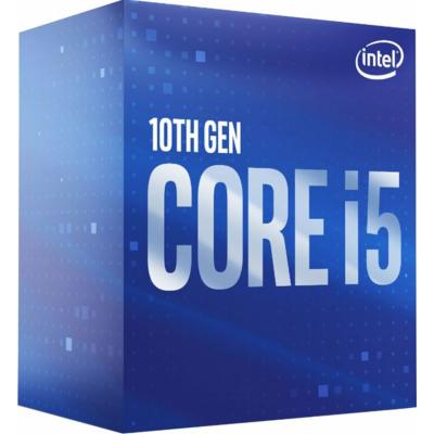 Produktbild: Intel Core i5-10400F 6x 2,9 GHz 12MB-L3 Cache Sockel 1200 (Comet  Lake)