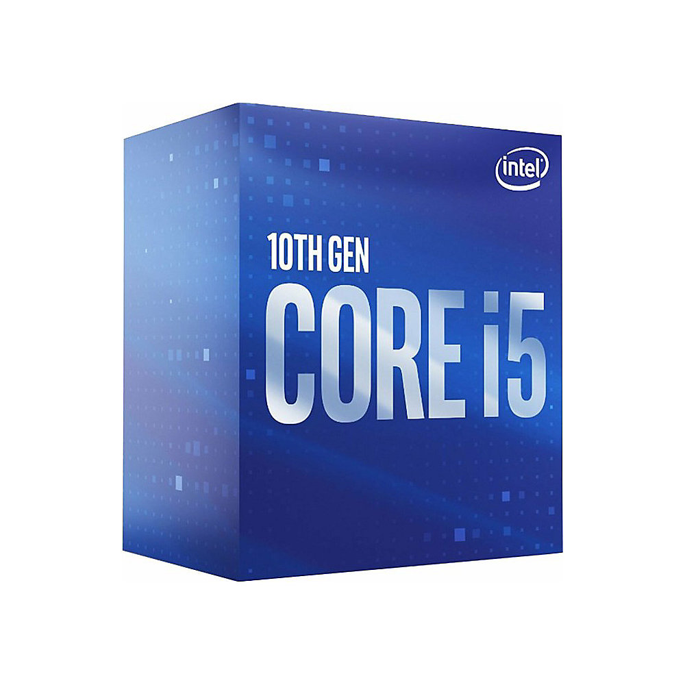Intel Core i5-10400F 6x 2,9 GHz 12MB-L3 Cache Sockel 1200 (Comet Lake)