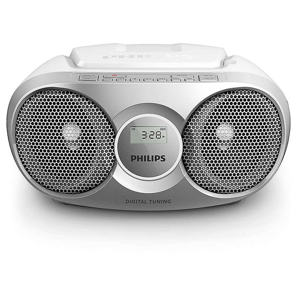 Philips AZ215S/12 CD-Radio Silber