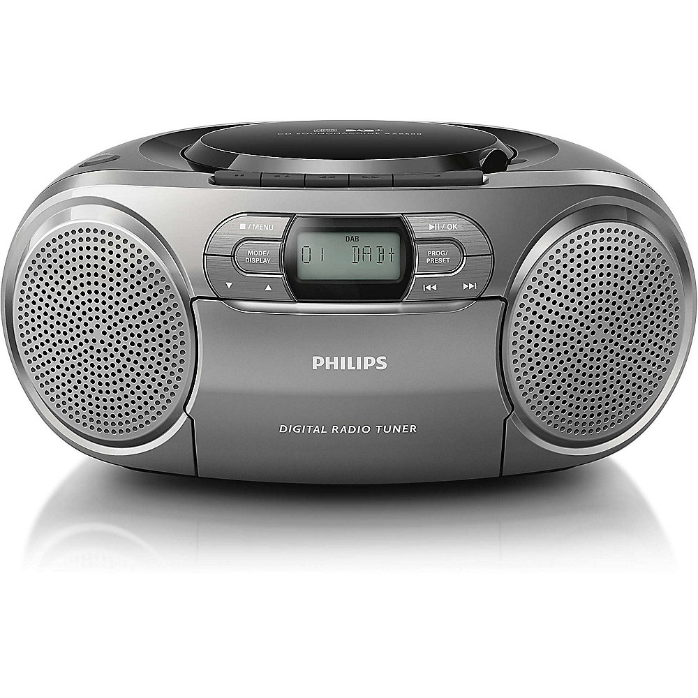 Philips AZB600/12 CD-Radio DAB+ grau