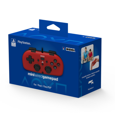 HORI PS4 Controller Mini rot