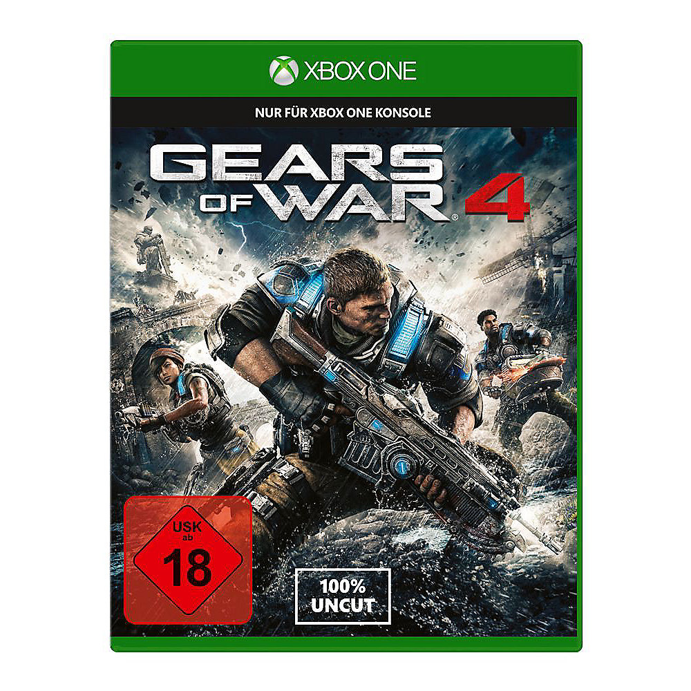 Gears of War 4 - Xbox One USK18