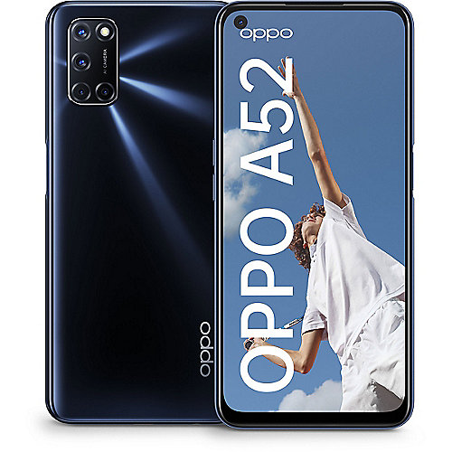 Oppo A52 4/64GB twilight black Dual-Sim ColorOS 7.1 Smartphone