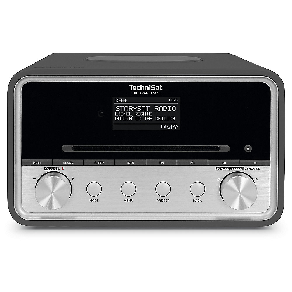 TechniSat DIGITRADIO 585 UKW/DAB+ WLAN CD Multiroom anthrazit