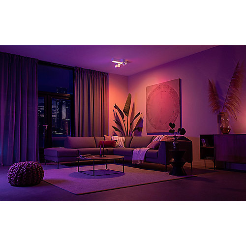 Philips Hue White & Color Ambiance BT Centris Cross Spot 3 flg. weiß 2850lm