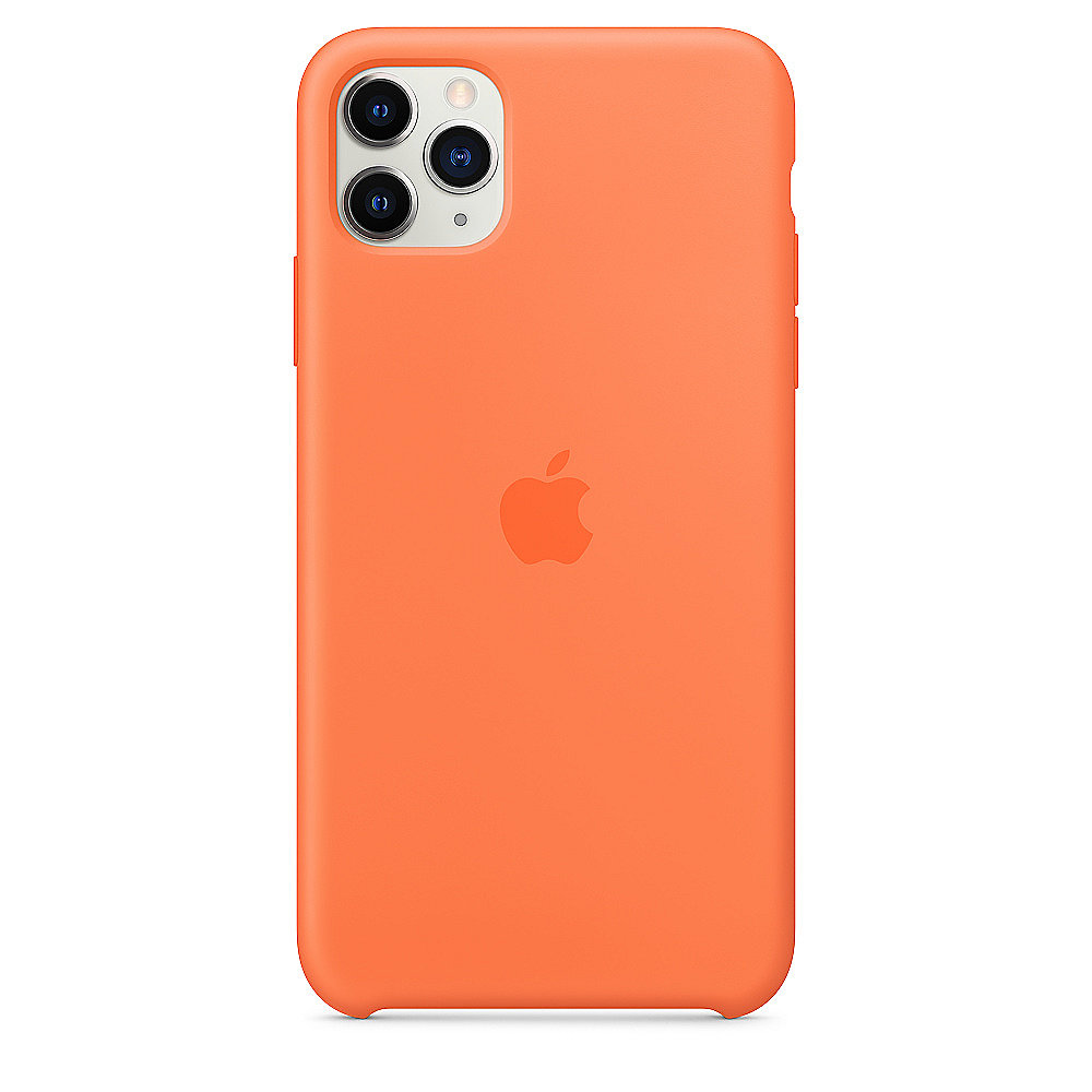 Apple Original iPhone 11 Pro Max Silikon Case Vitamin C