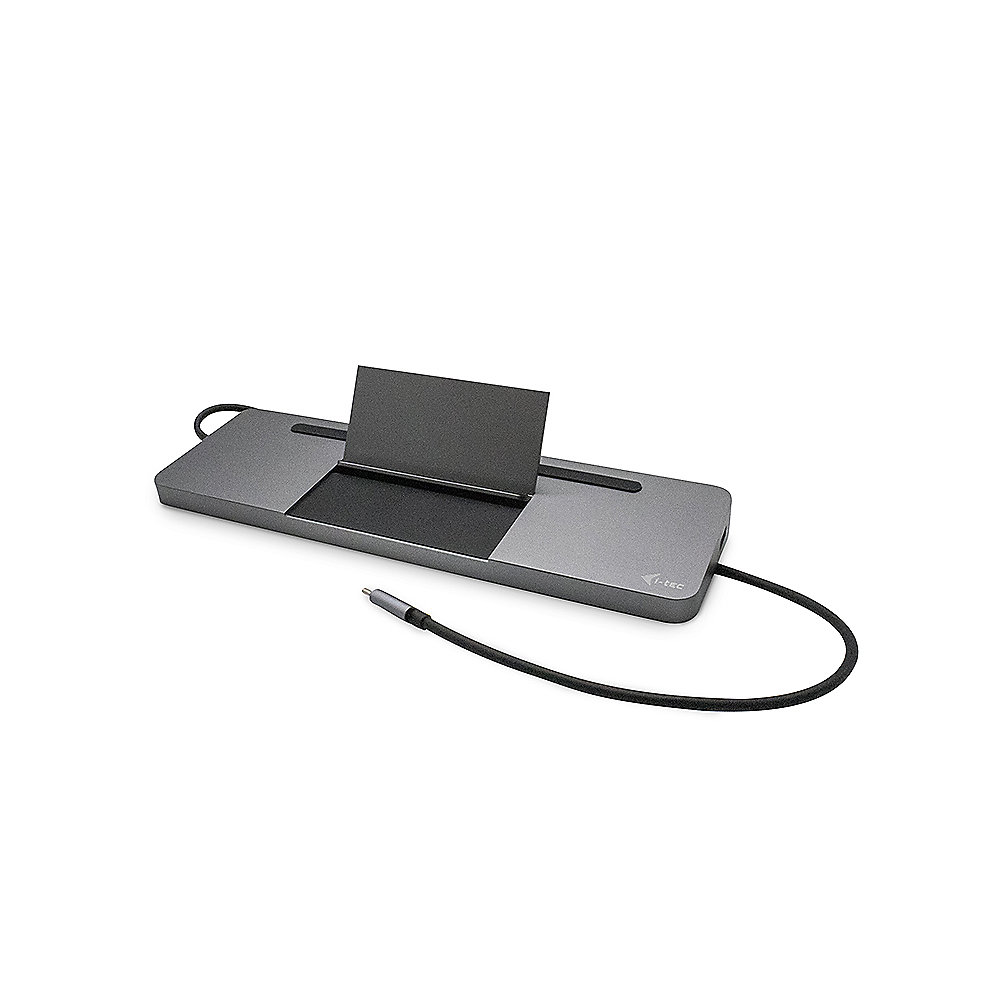 i-tec USB-C Metal Ergonomic 4K 3x Display Docking Station + Power Delivery 85 W
