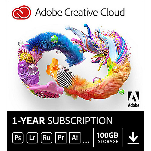 Adobe Creative Cloud Individual 1Jahr Download
