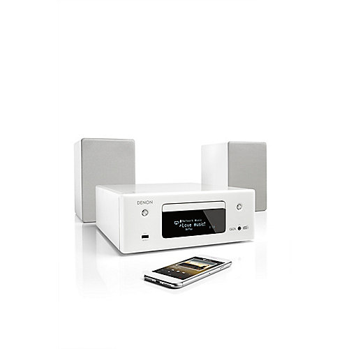 Denon CEOL-N11DAB CD-Kompaktanlage HEOS Multiroom Bluetooth Airplay2 weiß