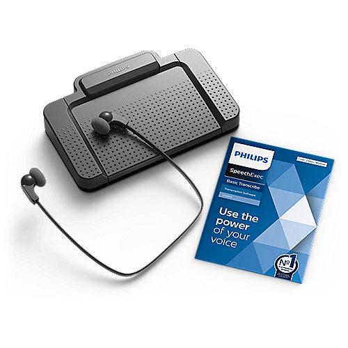 Philips LFH7177 Transcriptions-Set mit Workflow-Software