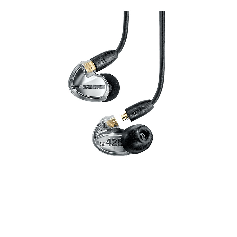 Shure SE425-V+UNI-EFS Wireless Sound Isolating Ohrhörer clear
