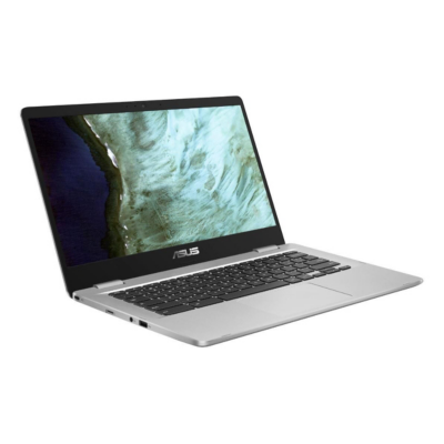 "ASUS Chromebook 14"" FHD silber Celeron N3350 8GB/64G eMMC ChromeOS C423NA-EC0376"
