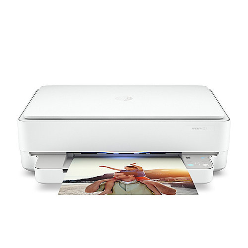 HP Envy 6022 Tintenstrahl-Multifunktionsdrucker Scanner Kopierer WLAN