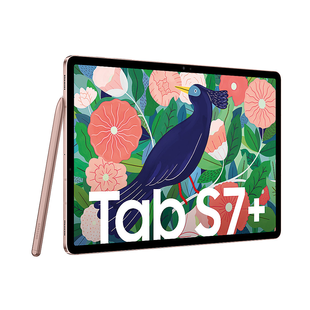 Samsung GALAXY Tab S7+ T970N WiFi 256GB mystic bronze Android 10.0 Tablet
