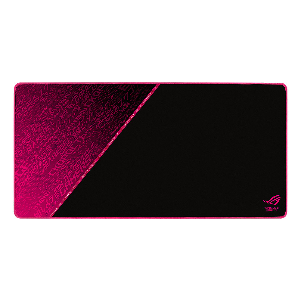 ASUS ROG Sheath Electro Punk Gaming Mousepad schwarz/pink