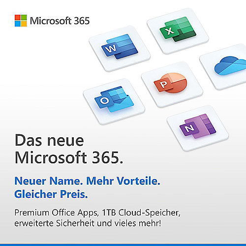 Microsoft 365 Family Download [inkl. Office Apps]