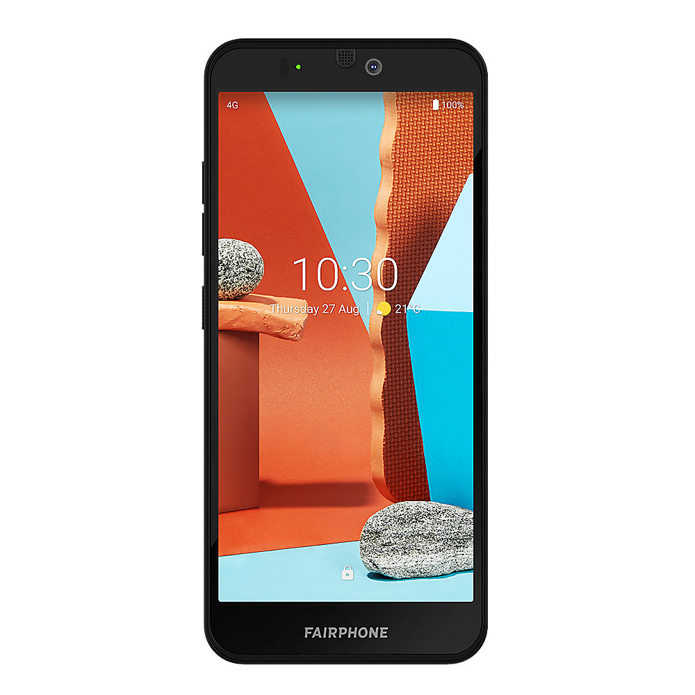 Fairphone 3+ Dual-SIM 4GB/64GB black Android 10.0 Smartphone
