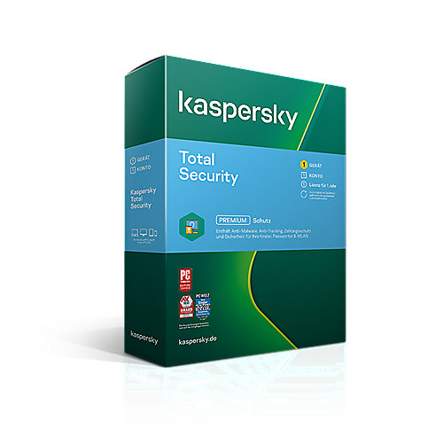 Kaspersky Total Security 1 Gerät | 1Jahr | BOX