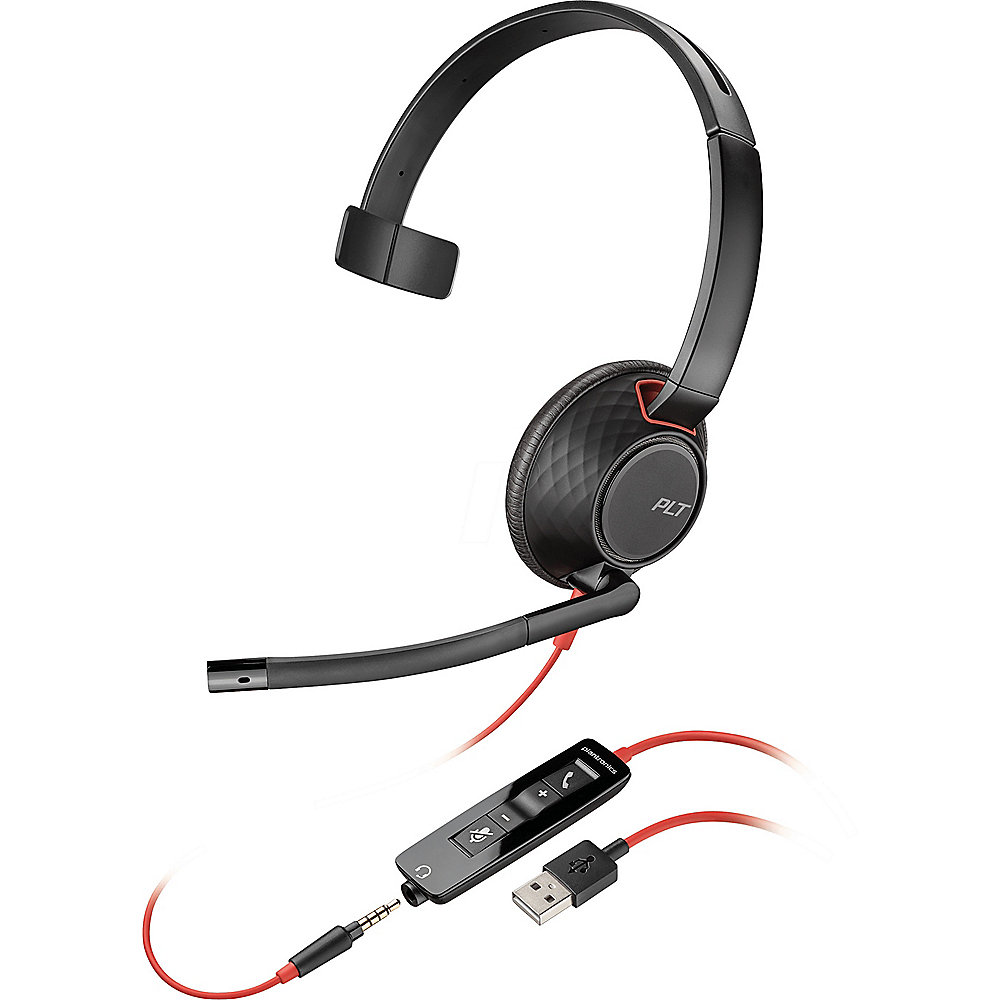 Plantronics Headset Blackwire USB 5210 monaural
