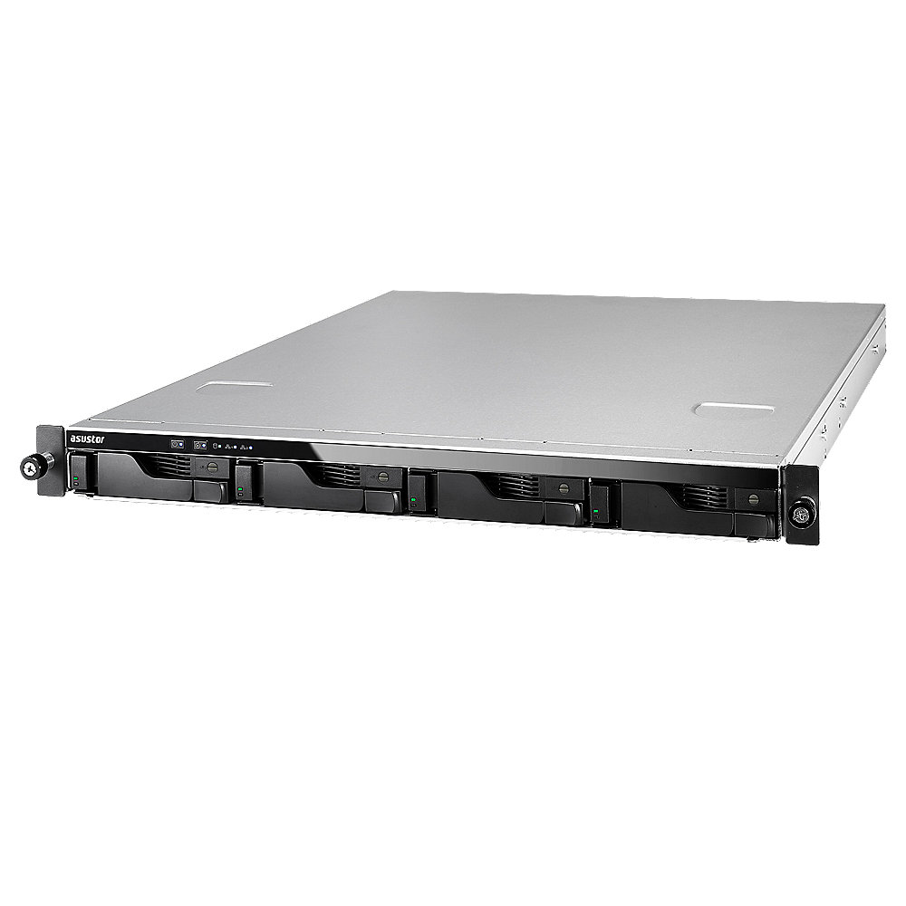 ASUSTOR AS6204RS+Rail NAS System 4-bay