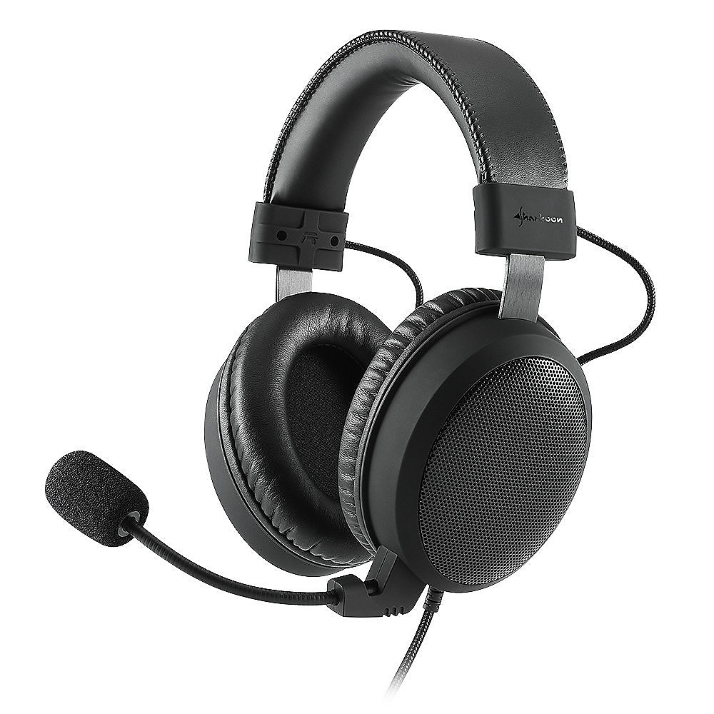 Sharkoon B1 Kabelgebundenes Gaming Headset schwarz