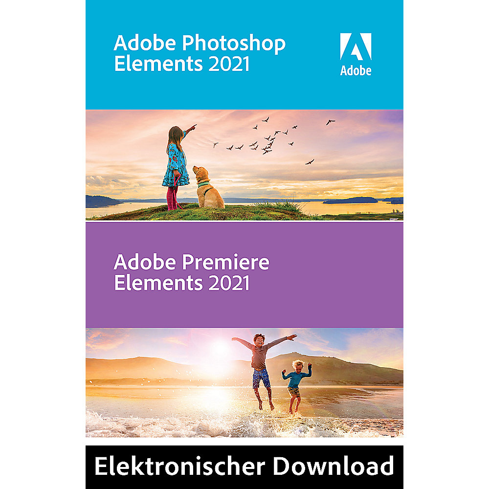 *Adobe Photoshop & Premiere Elements 2021 Mac DE Download