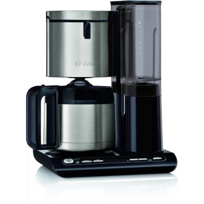 Bosch TKA8A683 Filterkaffeemaschine Thermokanne silber/schwarz