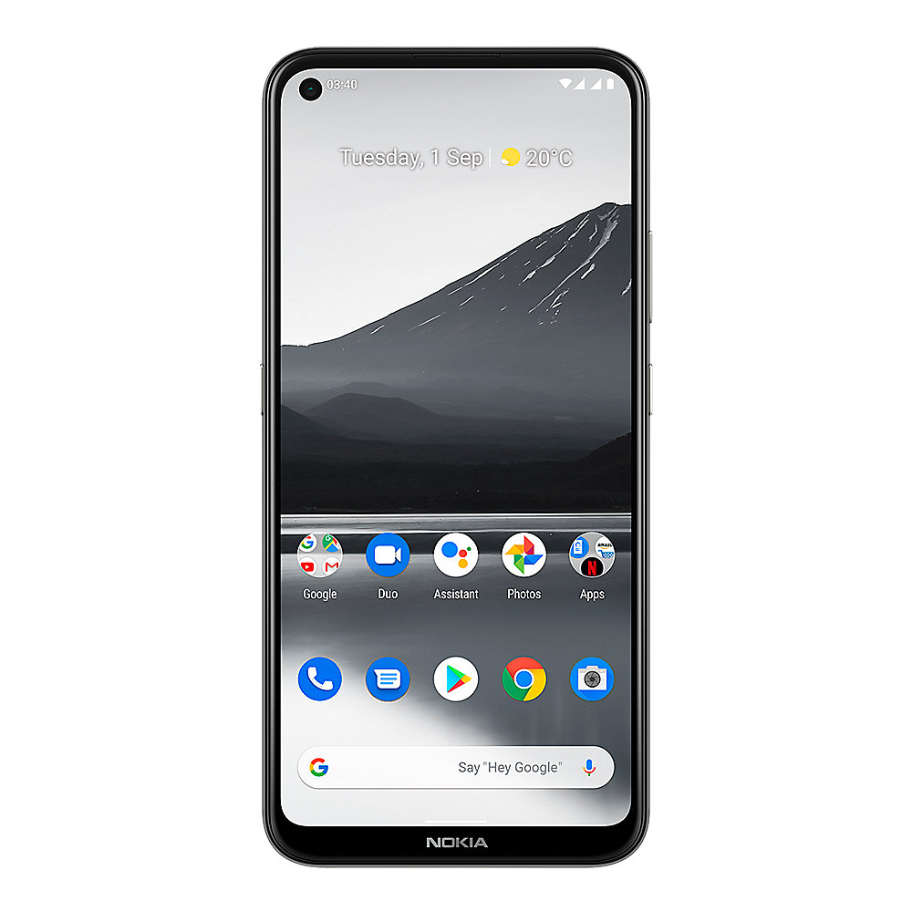 Nokia 3.4 Dual-SIM 64GB charcoal grey Android 10.0 Smartphone mit Android One