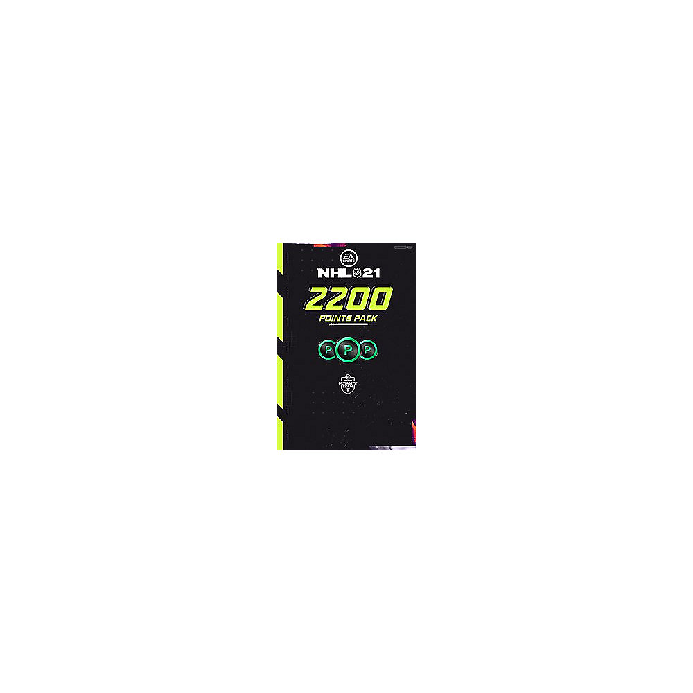 NHL 21 2200 Points Digital Code